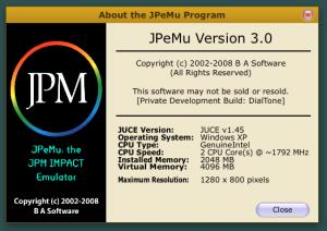 JPeMu3 About Box