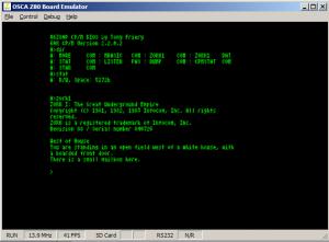 CP/M 2.2 on V6Z80P