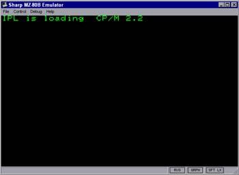MZ80B IPL Screenshot