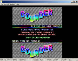 Bounder V6Z80P Screengrab