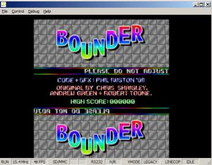 Bounder V6Z80P Screengrab